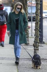 LILI REINHART Out with Her Dog Milo in Vancouver 12/13/2020