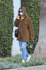 LILY COLLINS Out and About in Beverly Hills 12/08/2020