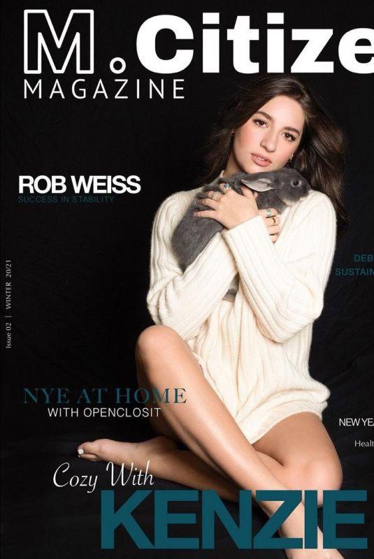 MACKENZIE ZIEGLER for M. Citizen Magazine, Winter 2021