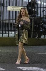 MAISIE SMITH Arrives at Strictly Come Dancing: It Takes Two in London 12/16/2020