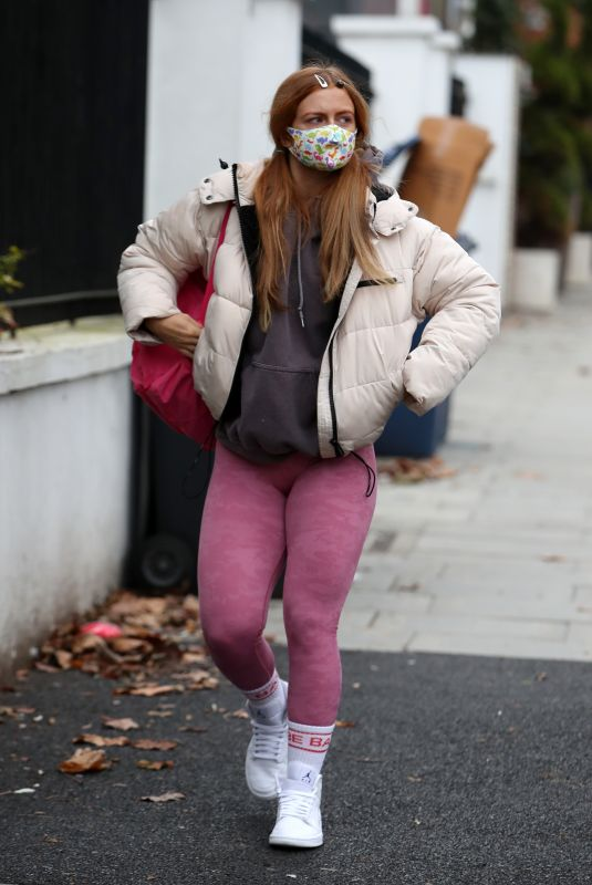 MAISIE SMITH Leaves Strictly Come Dancing Rehearsals in London 12/02/2020