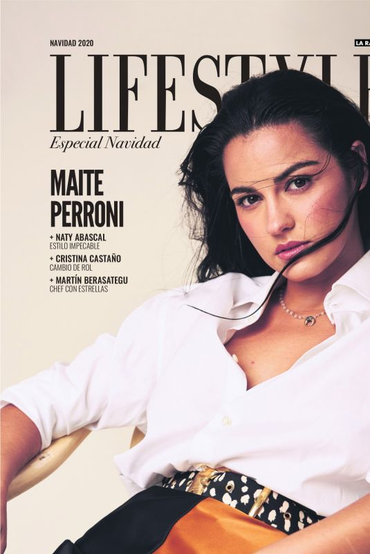 MAITE PERRONI in Lifestyle Magazine, December 2020