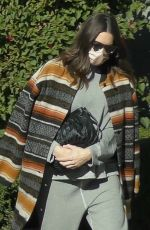 MANDY MOORE Leaves Her Acupuncture Clinic in Los Angeles 12/18/2020