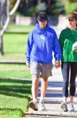 MARGARET QUALLEY and Shia LaBeouf Out at a Park in Pasadena 12/22/2020