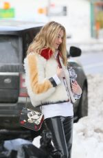 MARTA HUNT on the Set of a Photoshoot in New York 12/18/2020
