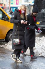 MARTHA HUNT Arrives at Her Hotel in New York 12/18/2020