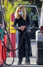 MEG RYAN at a Gas Station in Santa Monica 12/08/2020