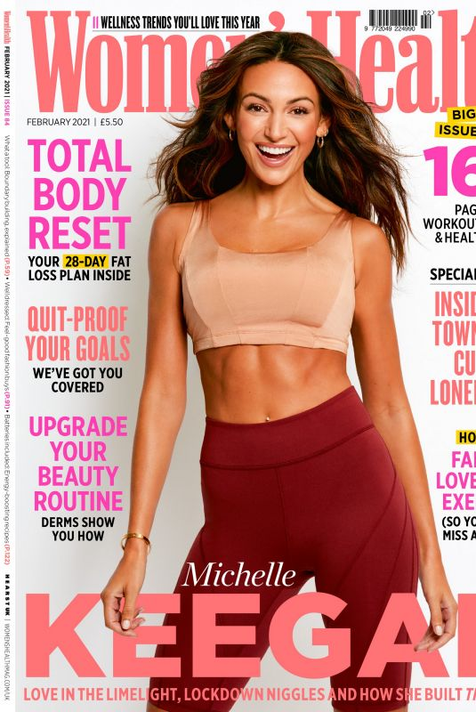 MICHELLE KEEGAN in Women's Health Magazine, UK February 2021