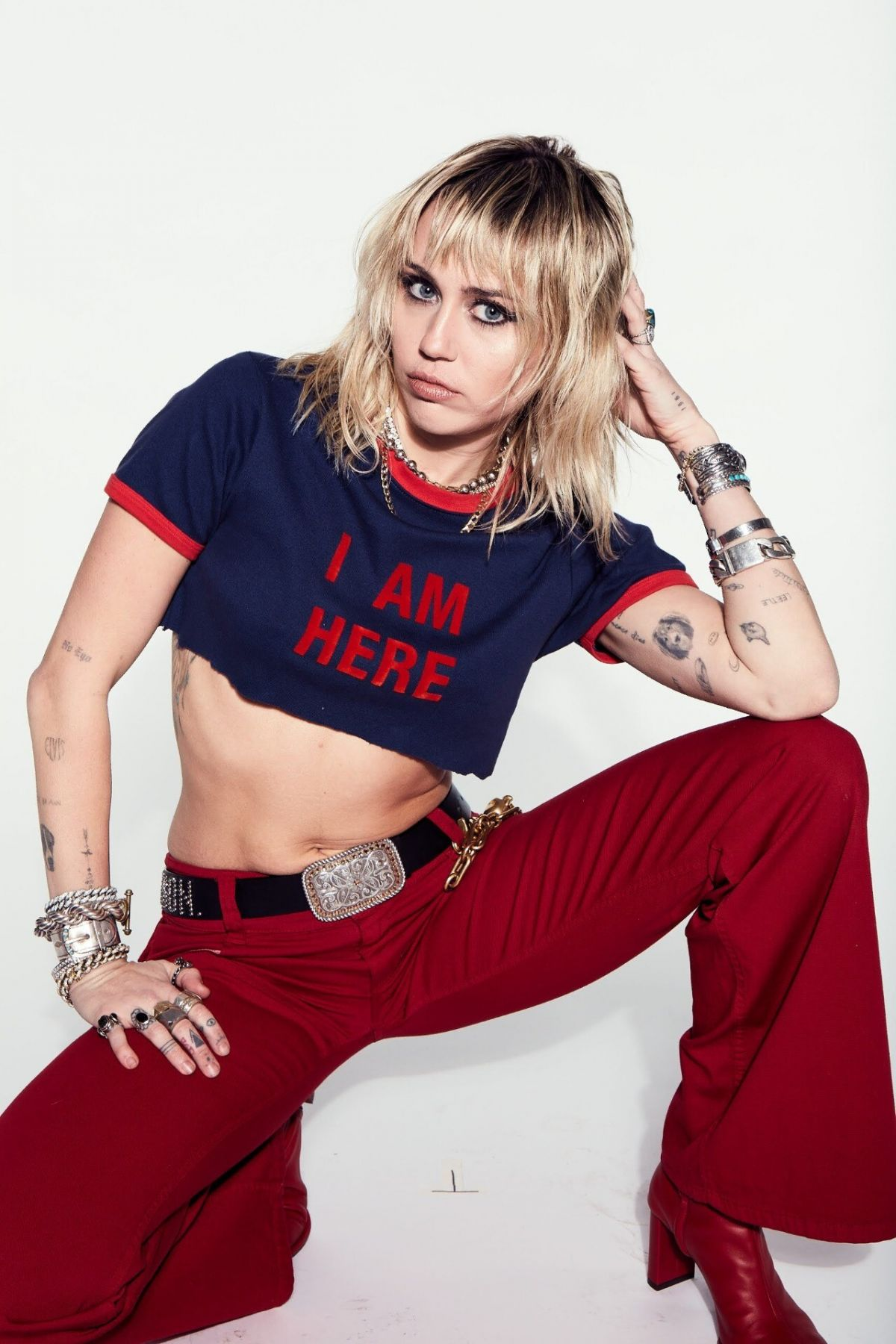 MILEY CYRUS - She Is Here Photoshoot, December 2020 ...