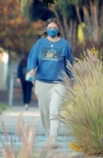 MISCHA BARTON Out in Los Angeles 12/02/202