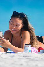 MONTANA YAO in Bikini at a Beach in Miami 12/17/2020