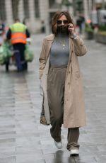 MYLEENE KLASS Arrives at Smooth Radio in London 12/14/2020