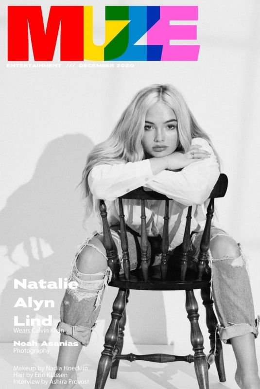 NATALIE ALYN LIND in Muze Magazine, December 2020