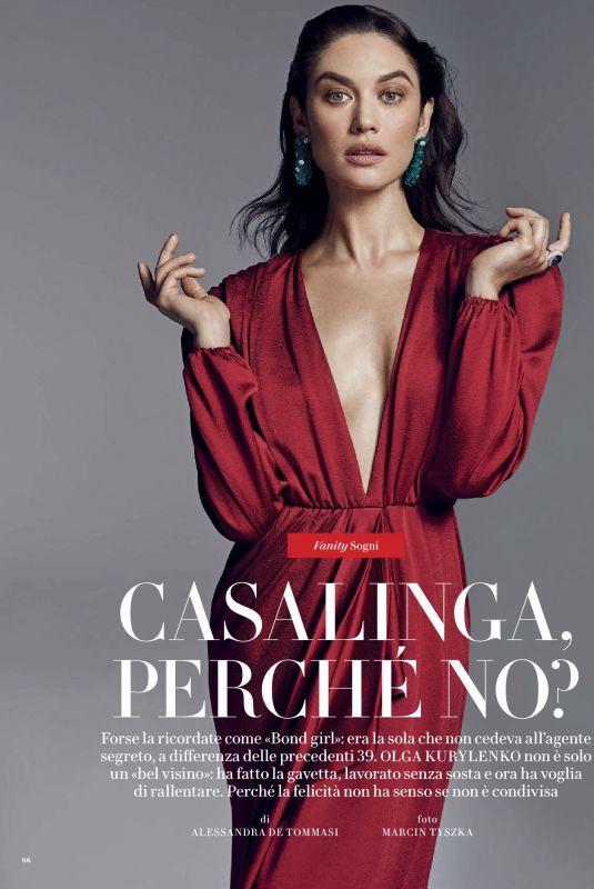 OLGA KURYLENKO in Vanity Fair Magazine, Italy October 2020