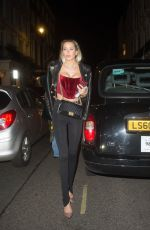 OLIVIA ATTWOOD Leaves MNKY House in London 12/09/2020