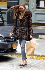 OLIVIA PALERMO Out and About in New York 12/01/2020