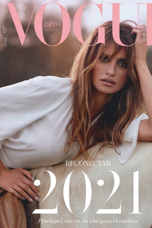 PENELOPE CRUZ in Vogue Magazine, Spain January 2021