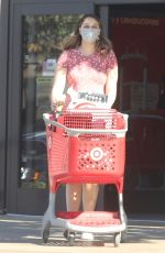 Pregnant APRIL LOVE GEARY Shopping at Target in Agoura Hills 11/30/2020