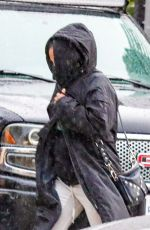 Pregnant CHRISTINA MILIAN Out for Furniture Shopping in West Hollywood 12/28/2020