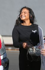 Pregnant CHRISTINA MILIAN Out in Los Angeles 12/14/2020