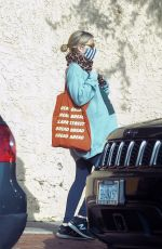Pregnant EMMA ROBERTS Out in Los Angeles 12/12/2020