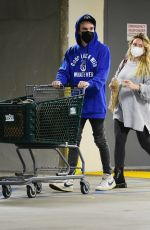Pregnant HILARY DUFF Shopping at Whole Foods in Los Angeles 12/28/2020