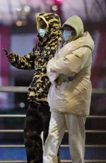 RIHANNA and Asap Rocky Out in New York 12/02/2020
