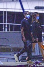 RIHANNA and Asap Rocky Out on Christmas Eve in Barbados 12/24/2020