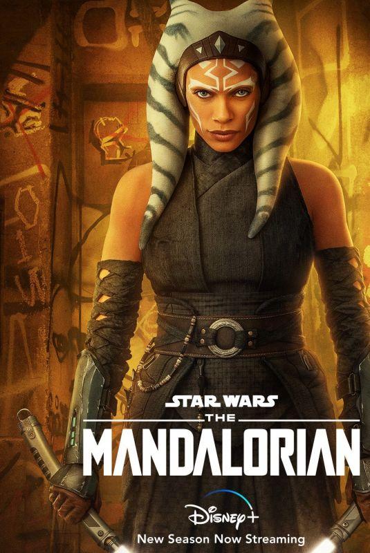 ROSARIO DAWSON – The Mandalorian, Season 2 Poster