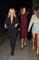 SAM and BILLIE FAIERS and SUZI WELLS Night Out in London 12/13/2020