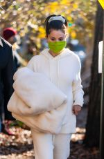 SELENA GOMEZ Arrives to Set of Only Murders in the Building in New York 12/07/2020