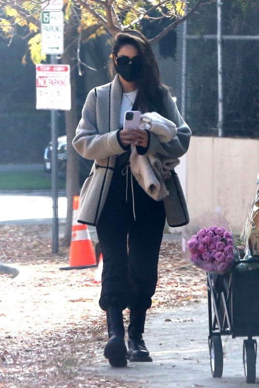 SHAY MITCHELL Out and About in Brentwood 12/27/2020