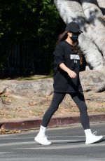 SHAY MITCHELL Out with Her Dog in Los Angeles 11/28/2020