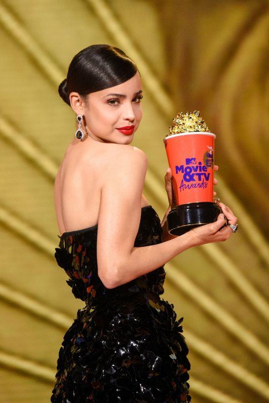 SOFIA CARSON at 2020 MTV Movie & TV Awards in Los Angeles 12/06/2020
