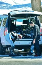 SOPHIE TURNER and Joe Jonas Out in Mammoth Lakes 12/20/2020