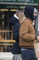 SUKI WATRHOUSE and Robert Pattinson Out in London 12/24/2020