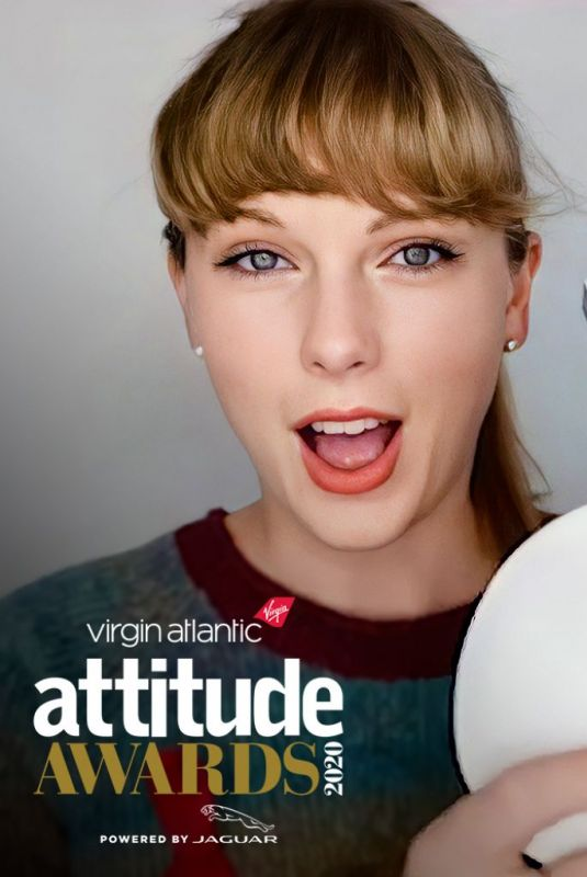 TAYLOR SWIFT for Attitude Awards 2020