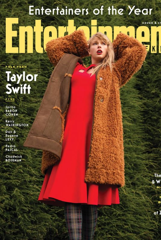 TAYLOR SWIFT in Entertainment Weekly, December 2020