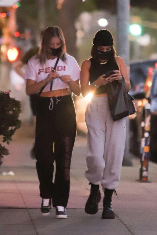 VANESSA HUDGENS and GG MAGREE Out in Los Feliz 12/09/2020