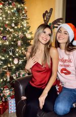 VICTORIA JUSTICE and MADISON REED - Instagram Photos 12/25/2020