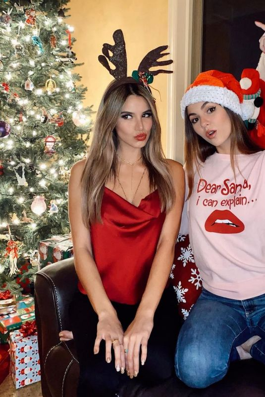 VICTORIA JUSTICE and MADISON REED – Instagram Photos 12/25/2020