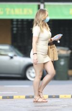 ABBIE CHATFIELD Leaves a Hair Salon in Brisbane 01/19/2021