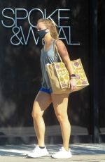 ABBY CHAMPION Out Shopping in Beverly Hills 01/18/2021