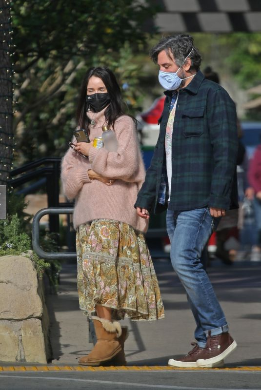 ABIGAIL SPENCER Out in Montecito 01/03/2021