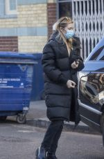 ABIGAL ABBEY CLANCY Out and About in London 01/24/2021