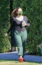 ADDISON RAE Heading to Pilates Class in Los Angeles 01/21/2021