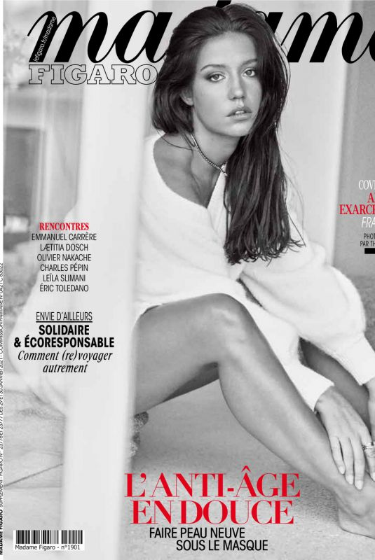 ADELE EXARCHOPOULOS in Mafame Figaro, January 2021
