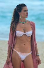 ALESSANDRA AMBROSIO in Bikini at a Beach in Florianopolis 01/18/2021