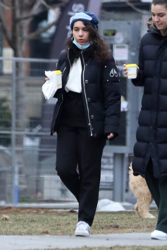 ALESSIA CARA Out and About in Toronto 01/01/2021
