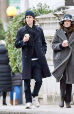 ALEXA CHUNG and Orson Fry Out in London 01/10/2021